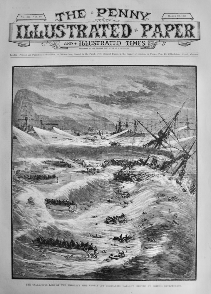 The Penny Illustrated Paper & Illustrated Times.  March 28th, 1891.