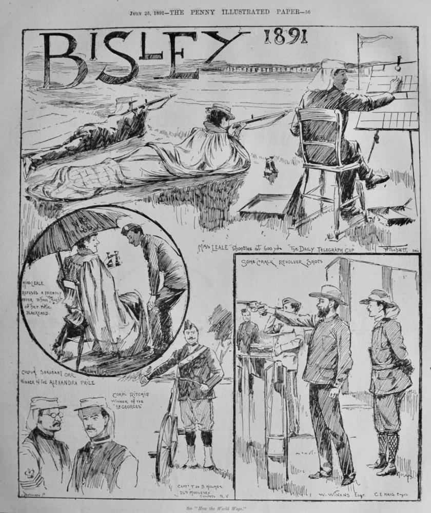 Bisley 1891. (Shooting)