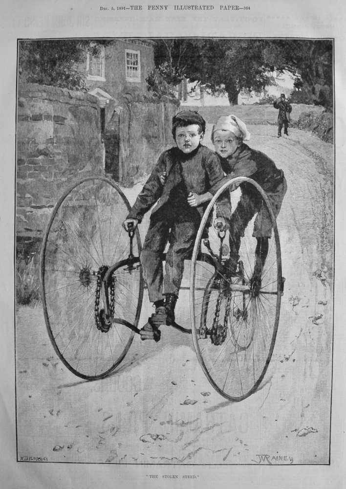 """""""The Stolen Steed.""""  1891."""