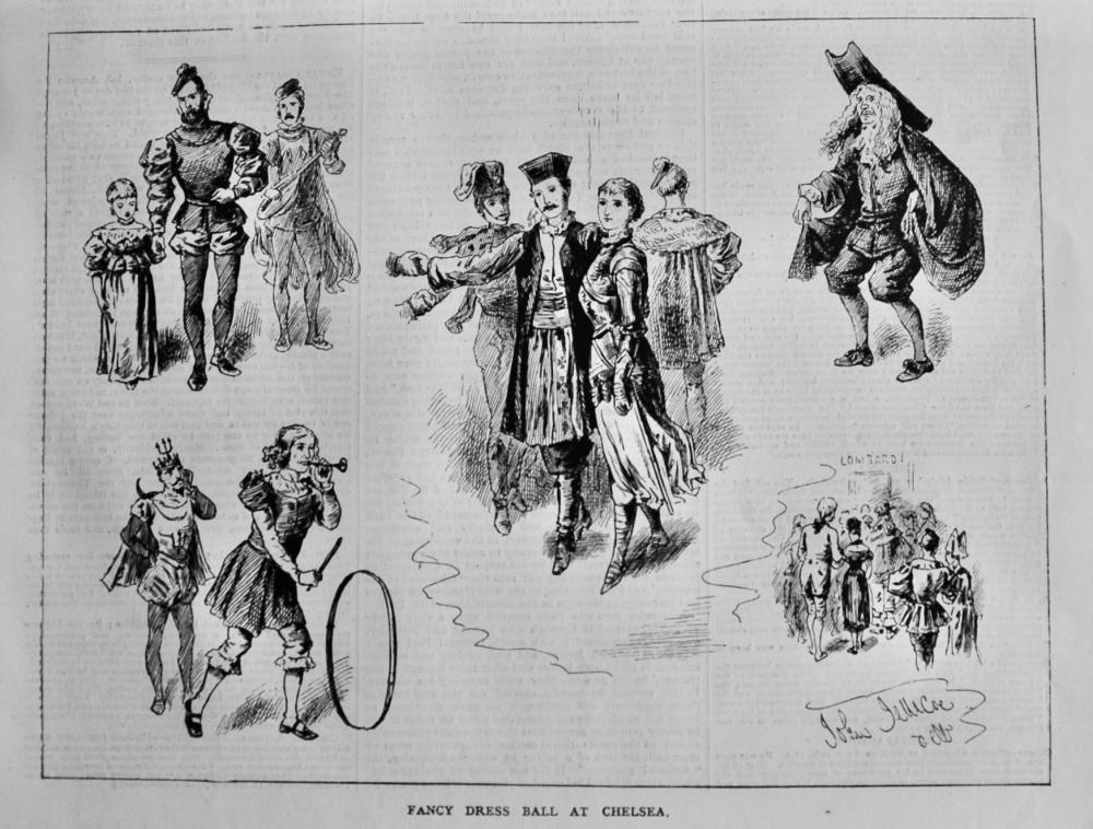 Fancy Dress Ball at Chelsea.  1879.