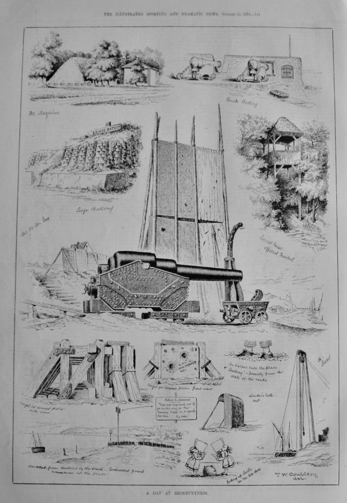A Day at Shoeburyness.  1879.