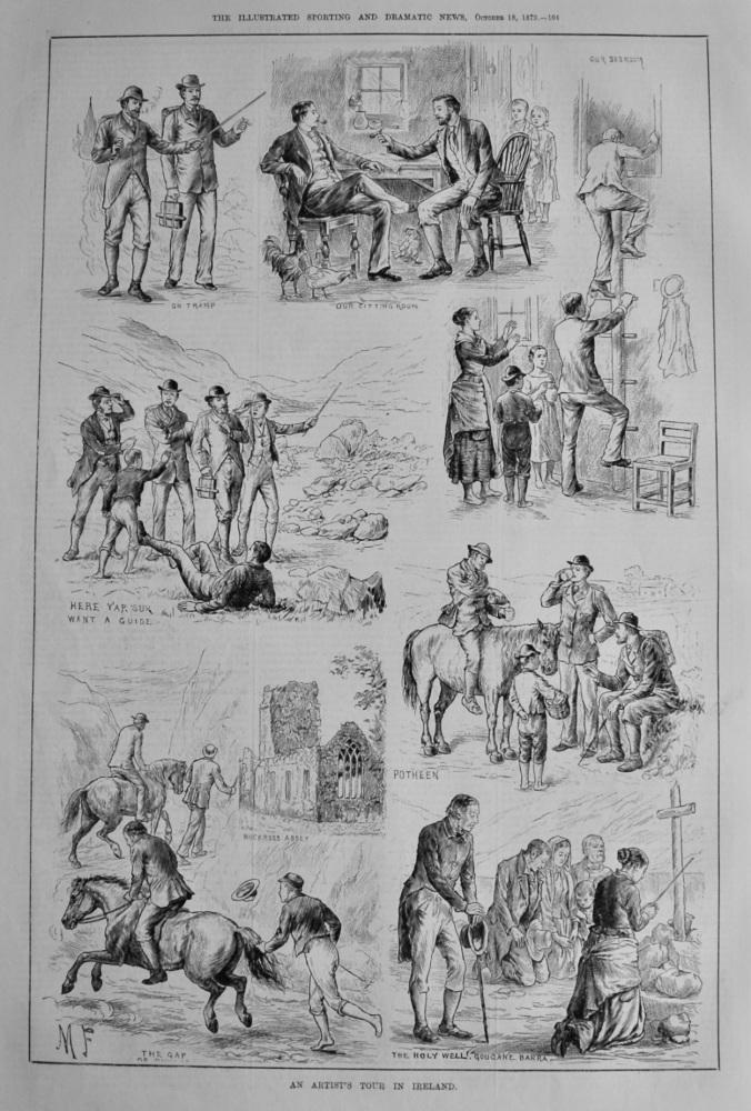 An Artist's Tour in Ireland.  1879.
