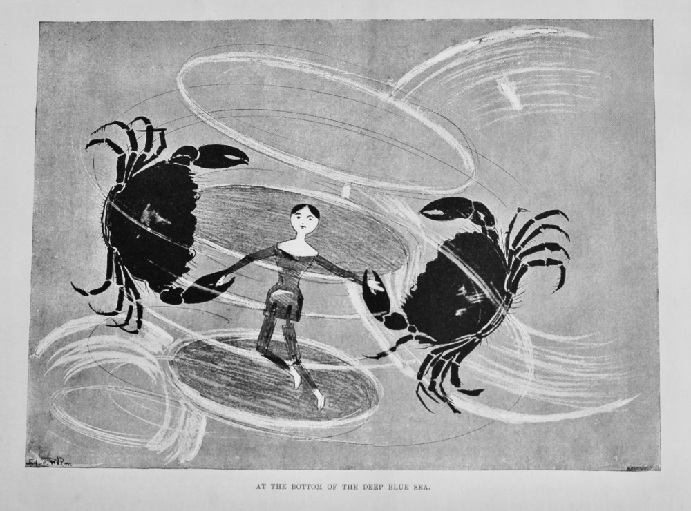 At the Bottom of the Deep Blue Sea.  1894.