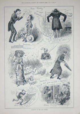 Humours of the Past Month. April 1884.