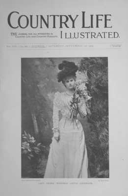 Country Life Sept 1st 1900.