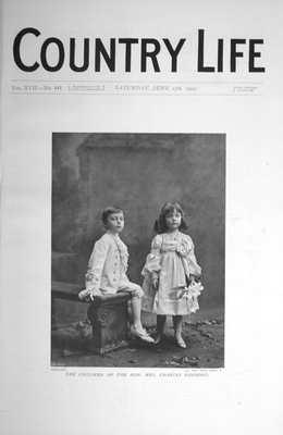 Country Life Jun 17th 1905.