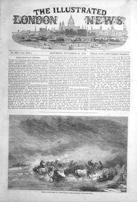 Illustrated London News Nov 26th 1853.