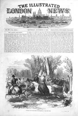 Illustrated London News Dec 10th 1853.