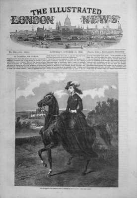 Illustrated London News Oct 15th 1853.