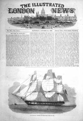 Illustrated London News Oct 29th 1853.