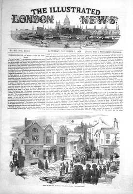 Illustrated London News Nov 5th 1853.