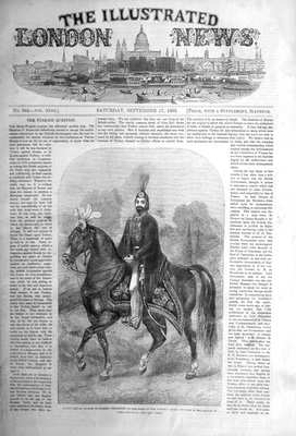 Illustrated London News Sept 17th 1853.