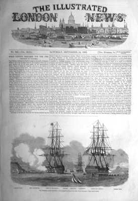 illustrated London News Sept 24th 1853.