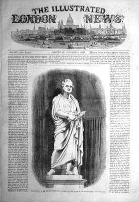 Illustrated London News Oct 1st 1853.