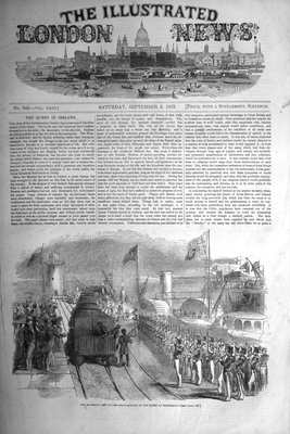 Illustrated London News Sept 3rd 1853.