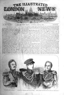 illustrated London News Jul 9th 1853.