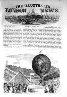 Illustrated London News Jun 7th 1851.