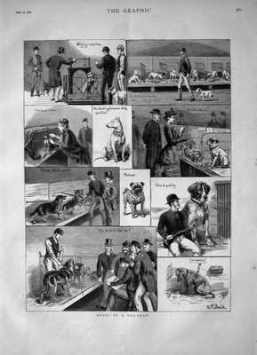 The Graphic Dec 8th 1883.