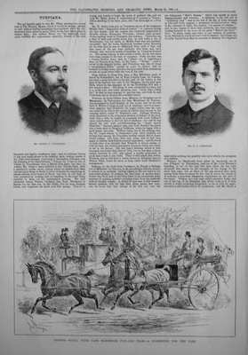 Sporting & Dramatic News Mar 22nd, 1884