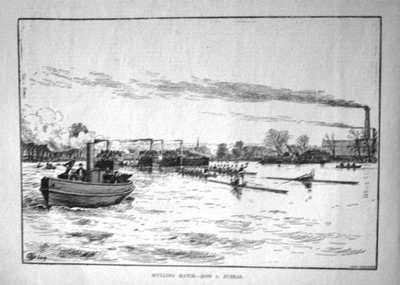 Sculling Match. - Ross v. Bubear. 1884