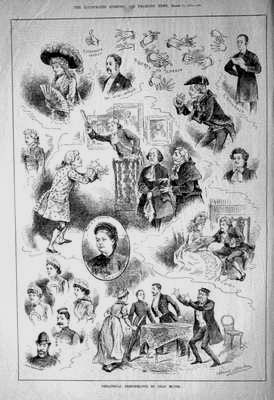 Sporting & Dramatic News Mar 15th 1884.