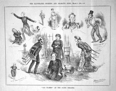 Sporting & Dramatic News Mar 8th 1884.