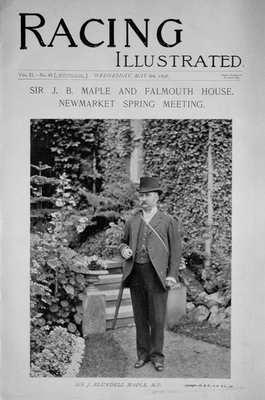 Racing Illustrated May 6th 1896.