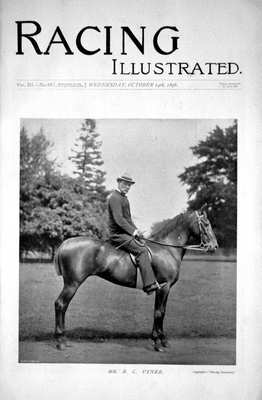 Racing Illustrated Oct 14th 1896.