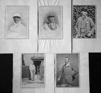 Photographs from the Racing Illustrated 1895.