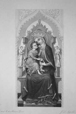 The Madonna Enthroned.
