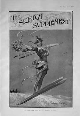The Sketch Jan 2nd 1907 (Supplement)