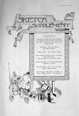 The Sketch Jul 5th 1905 (Supplement)