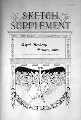 The Sketch May 3rd 1905. (Supplement)