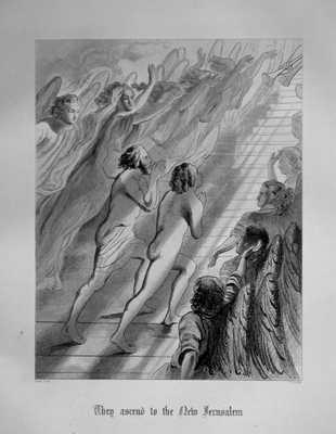They Ascend to the new Jerusalem.