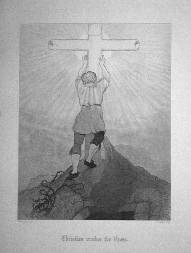 Christian reaches the Cross.