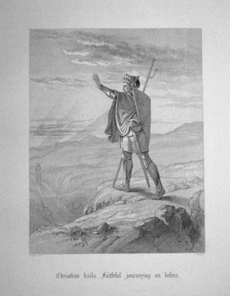 Christian hails Faithful journeying on before.