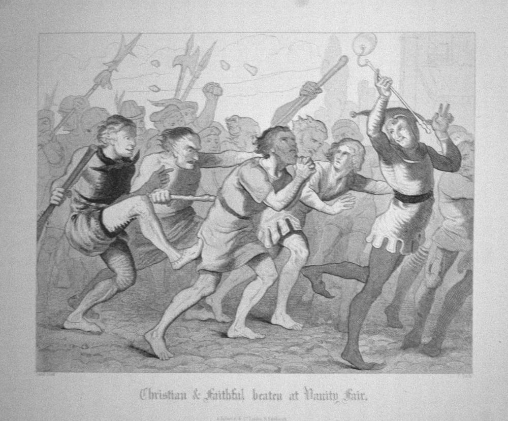 Christian & faithful beaten at Vanity Fair.