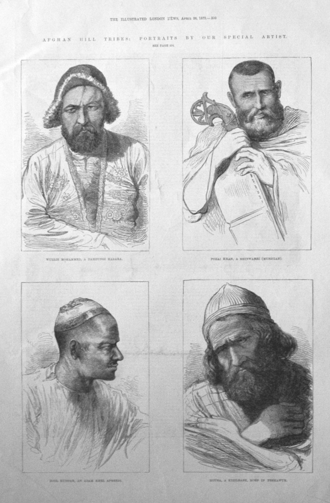 Afghan Hill Tribes.