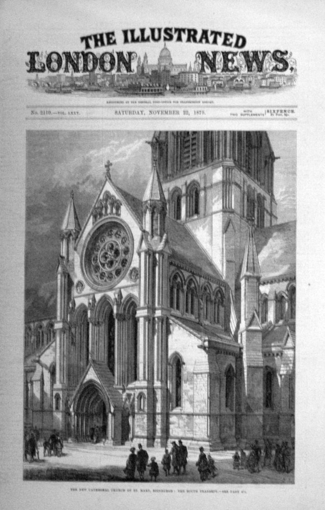 Illustrated London News Nov 22nd 1879.