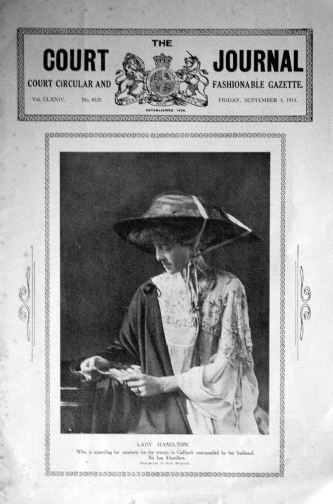 The Court Journal, Sept 3rd 1915.