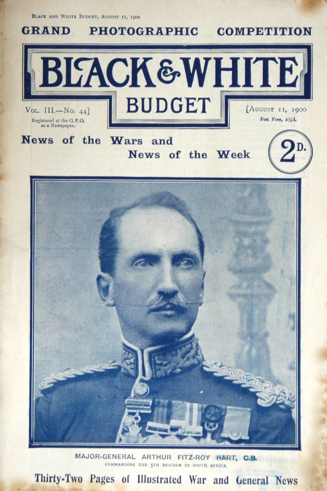Black & White Budget, Aug 11th 1900.