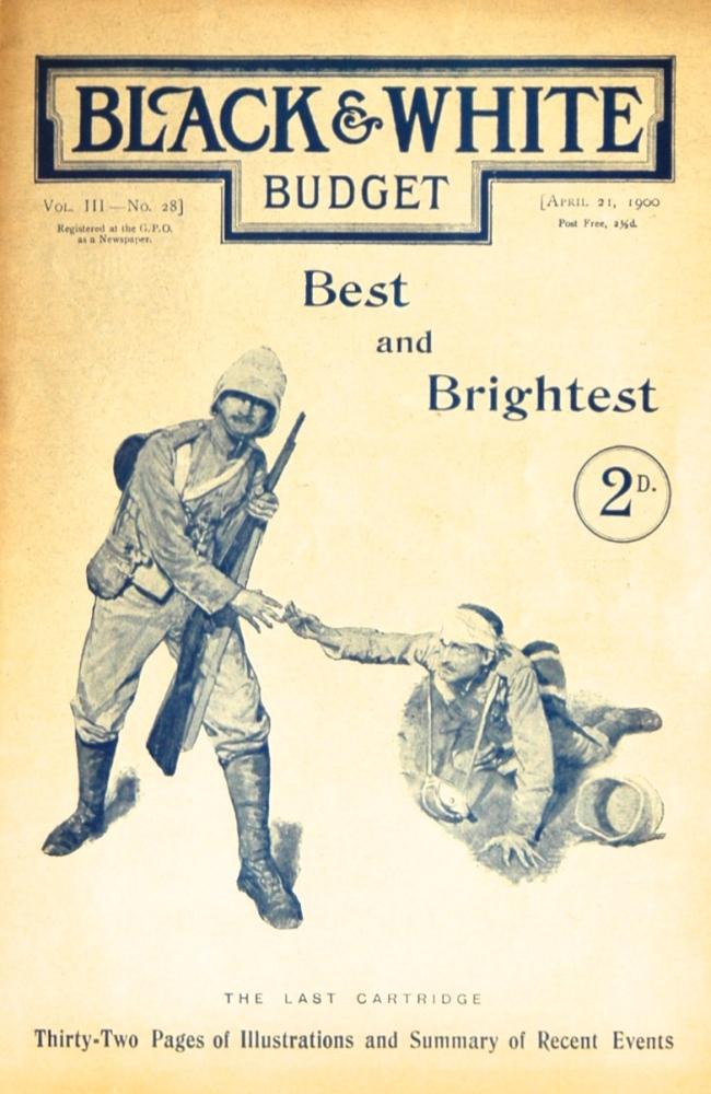 Black & White Budget, April 21st 1900.