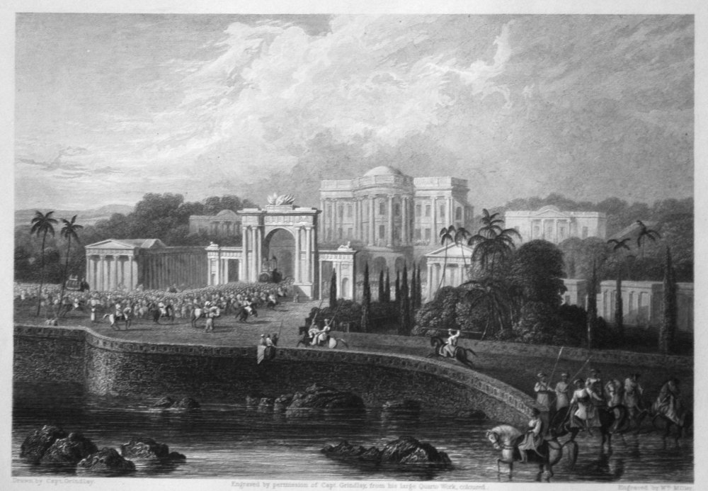 The British Residency at Hyderabad