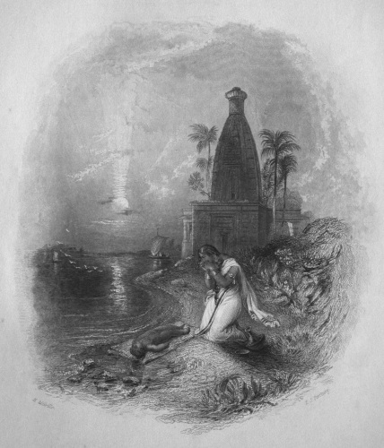 The Hindoo Mother.