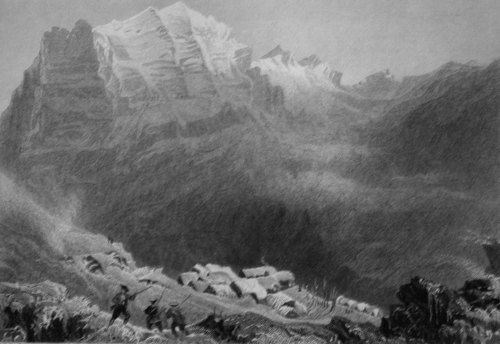 Dormeilleuse, High Alps, the Scene of Felix Neffs Labours.