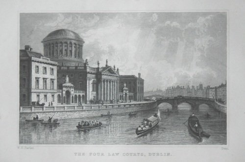 The Four Law Courts, Dublin.