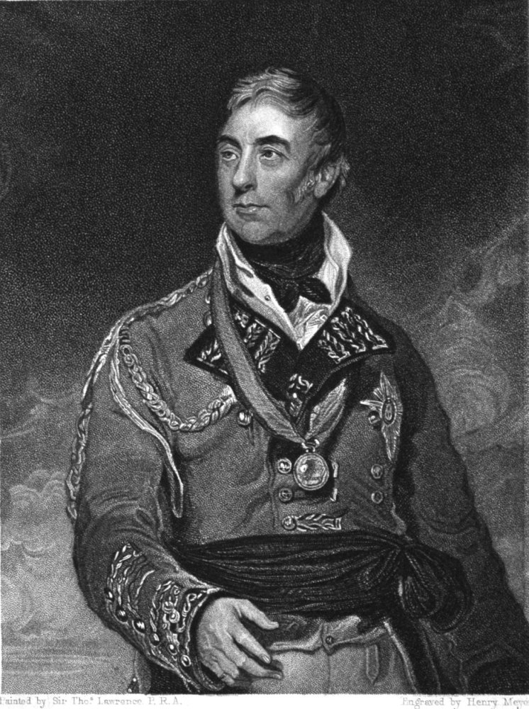 Thomas Graham. Baron Lynedoch.