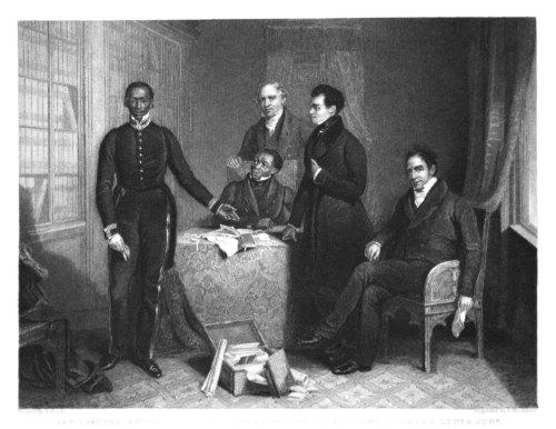 Jan Tzatzoe, Andries Stoffles, The Rev. Dr. Philip & Rev. Messrs Read, Seni