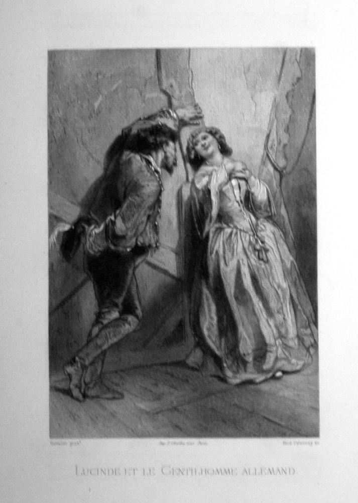 Lucinde et le Gentilhomme allemand