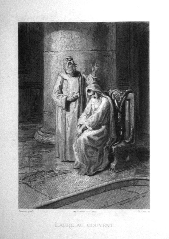 Laure au couvent.